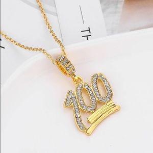 💯 100 Emoji Gold Chain 💯